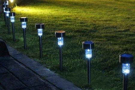 Tuinverlichting Zonne Energie.Tuinverlichting Zonne Energie Geimpregneerd Hout Beitsen